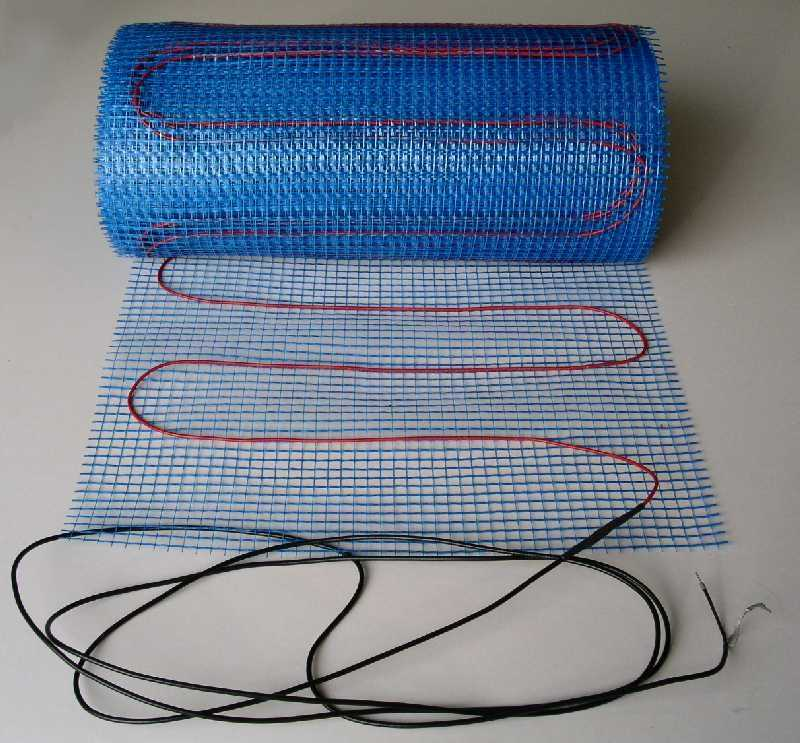 thin bed Undertile heating mat